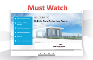 All Exclusive Writeup From commVault